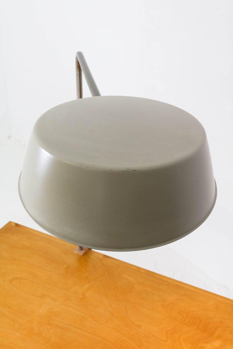 Swedish Mid-Century Modern Desk Lamp by ASEA, Sweden, 1960s For Sale