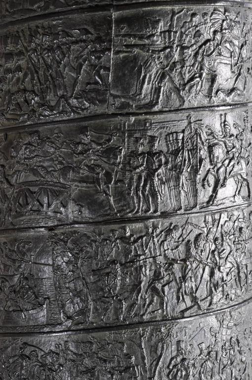 Bronze Very, very impressive c. 1835 bronze model of the Vendome Column, Paris For Sale