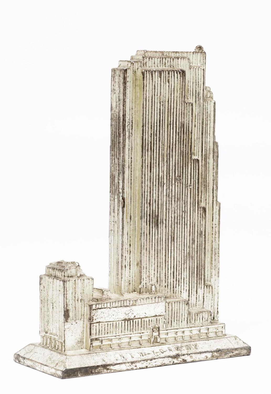 1930 39 S Rca Building New York Souvenir Architectural Model