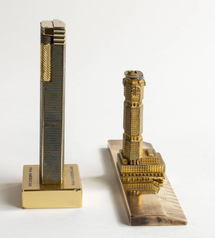 Two 1960 39 s pan am building new york souvenir architectural for Architecture models for sale