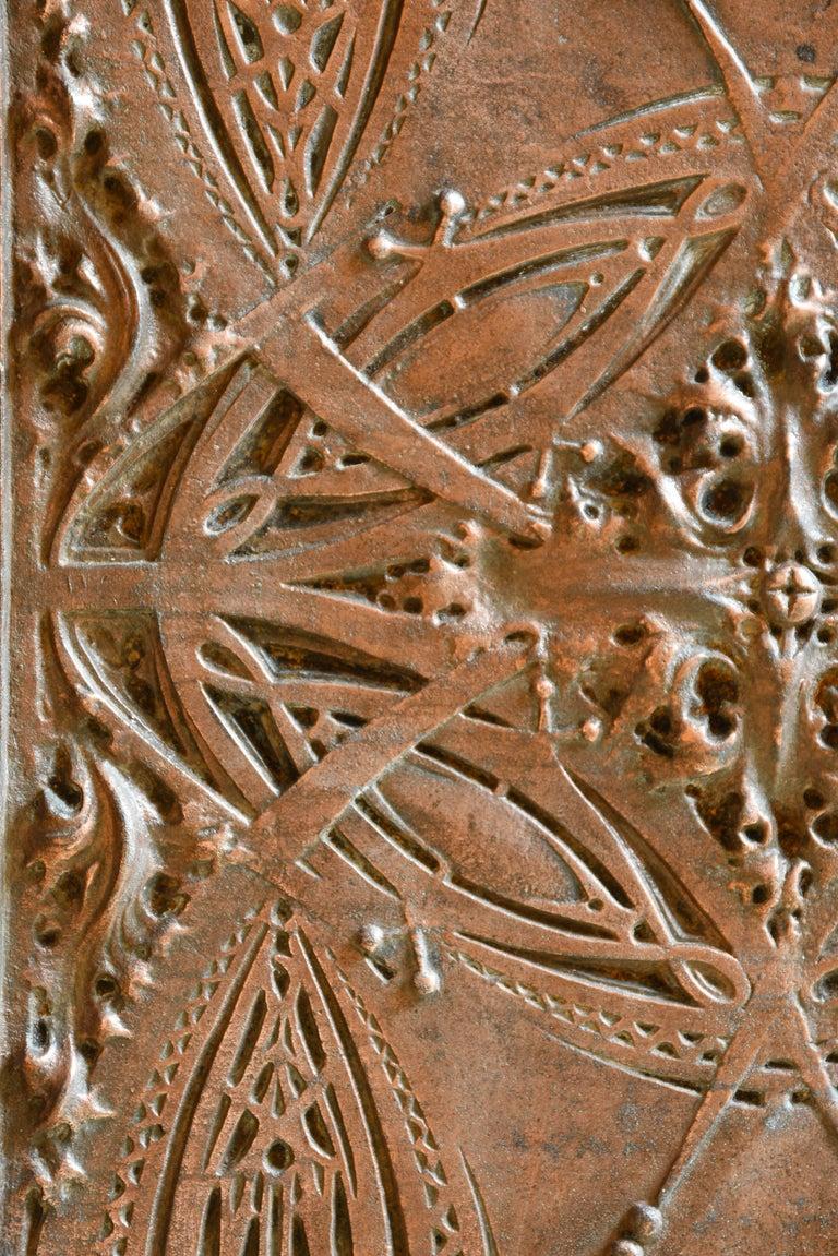 American Louis Sullivan Decorative Panel, 1893 Chicago Stock Exchange For Sale