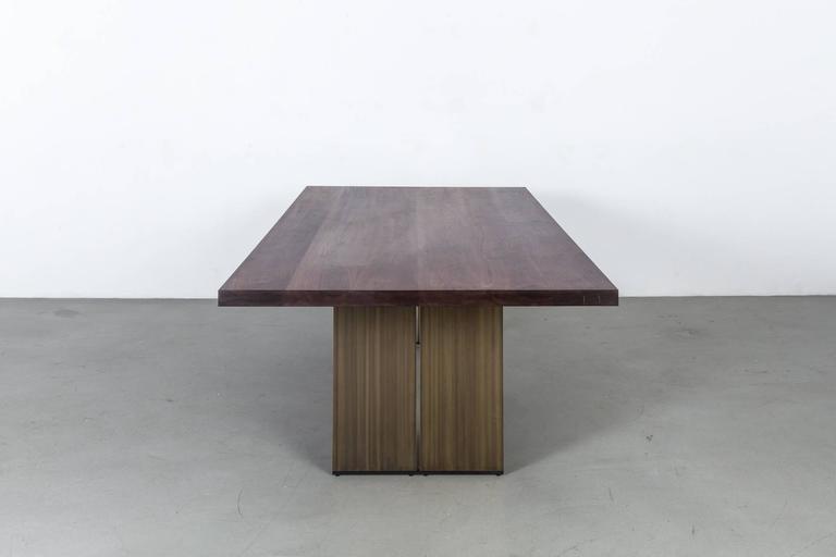 Milo Base Walnut Table by Uhuru Design 2