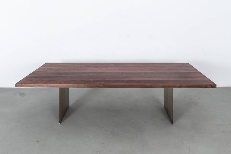 Milo Base Walnut Table by Uhuru Design 3