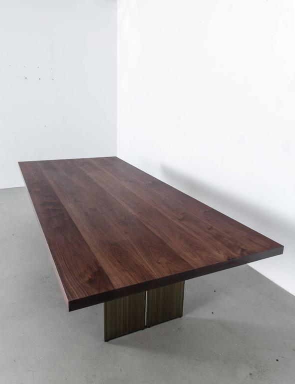 Milo Base Walnut Table by Uhuru Design 5