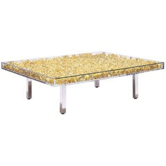 Monogold Table by Yves Klein