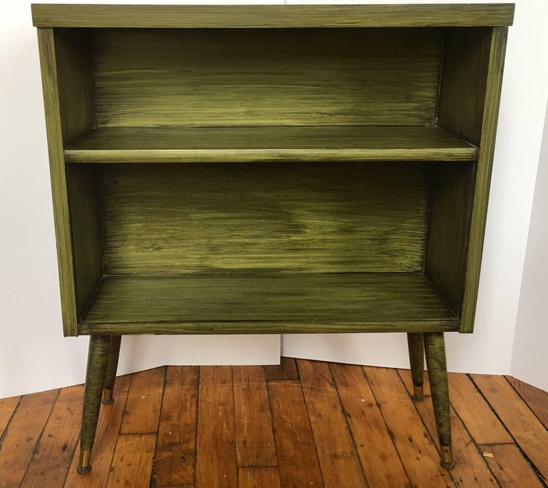 Mid-Century Modern Ico Parisi Style Desk and Bookcase Set For Sale 4
