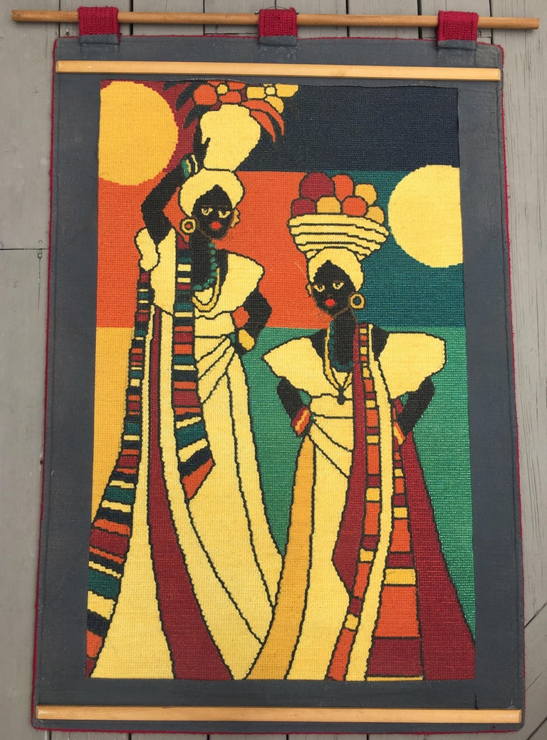 Mid-Century Modern Brazilian Wall Art Tapestry by Lale For Sale at ...