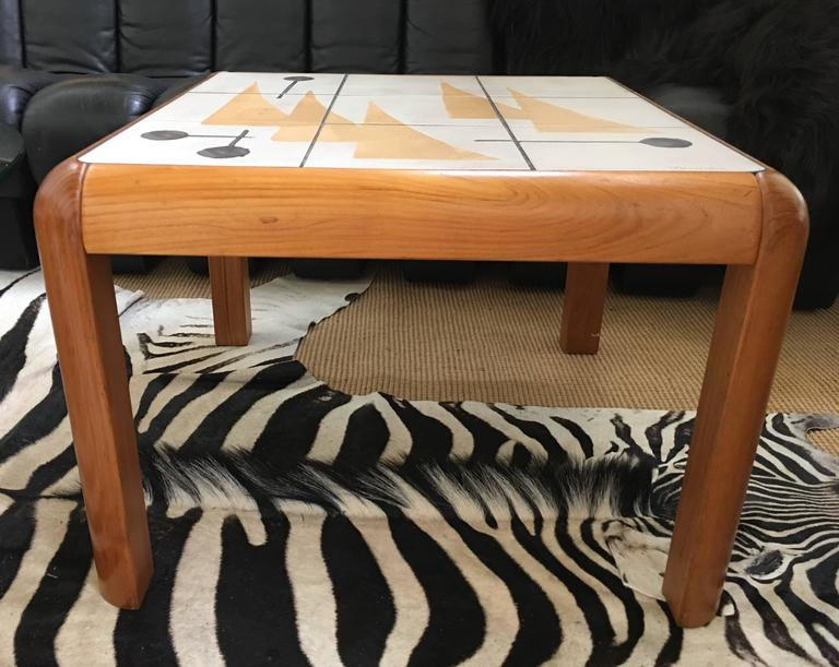 Danish Mid Century Modern Table By Poul H Poulsen For
