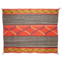 Antique Navajo Chief Blanket, circa 1890