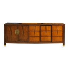 Stunning Vintage Walnut Buffet or Credenza by Baker