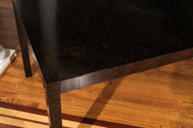 Elegant Restored Vintage Extension Dining Table or Writing Desk 7