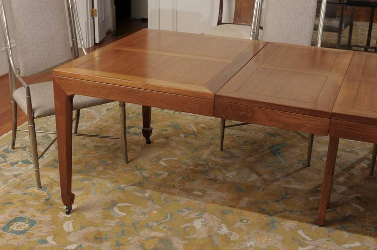 baker dining room table price used chairs breathtaking restored vintage extension walnut