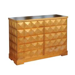 Elegant Custom Diamond Cabinet by Barbara Barry for Baker