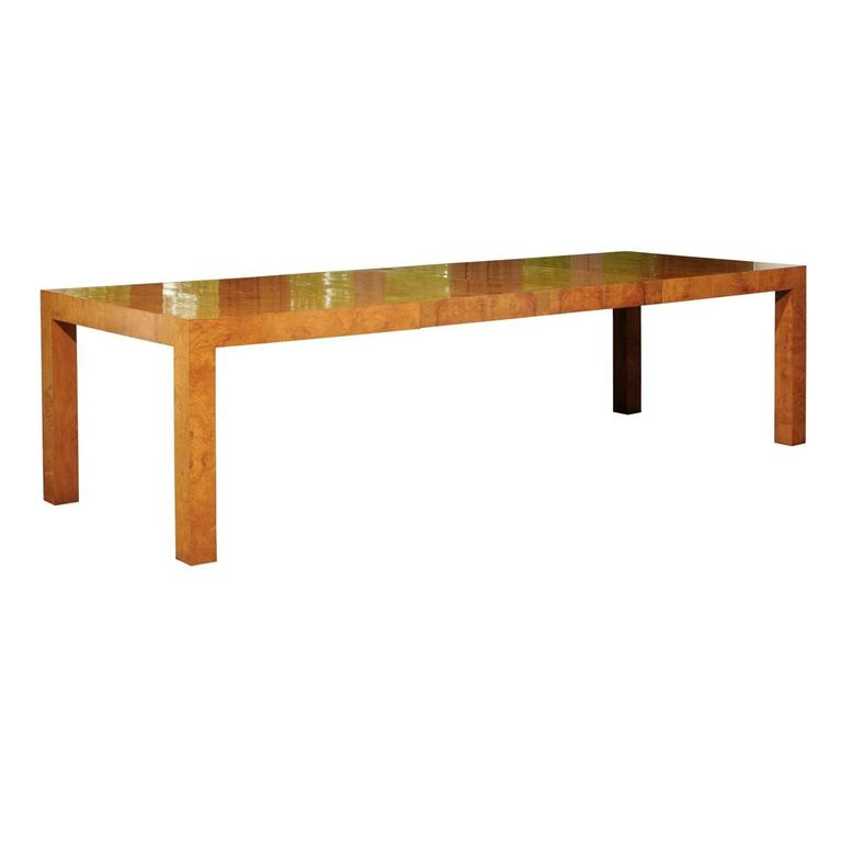 Vintage Mid Century Coffee Table Hawaiian Koa Wood By: Banded Bookmatched Flame Mahogany Dining Table By