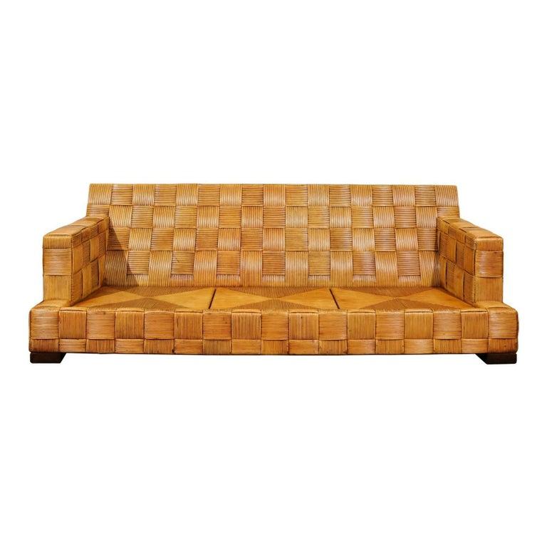 Stunning Block Island Collection Sofa by John Hutton for Donghia, circa 1995