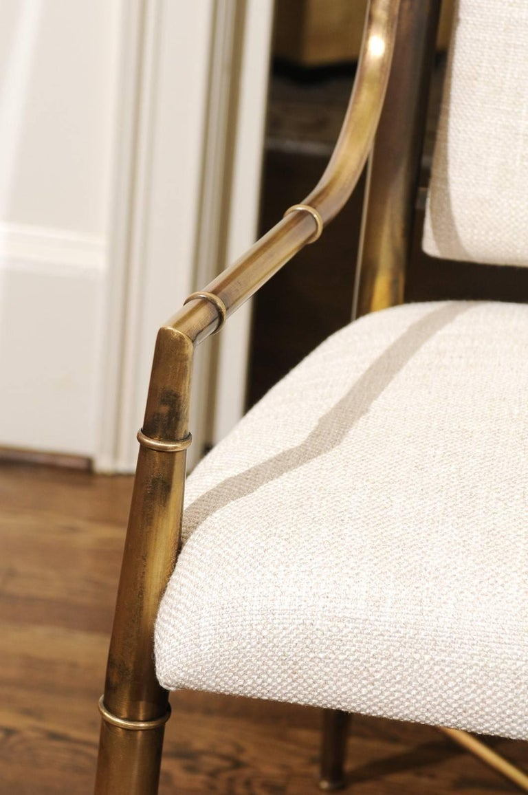 Magnificent Set of Ten Dining Chairs by Weiman/Warren Lloyd for Mastercraft For Sale 5