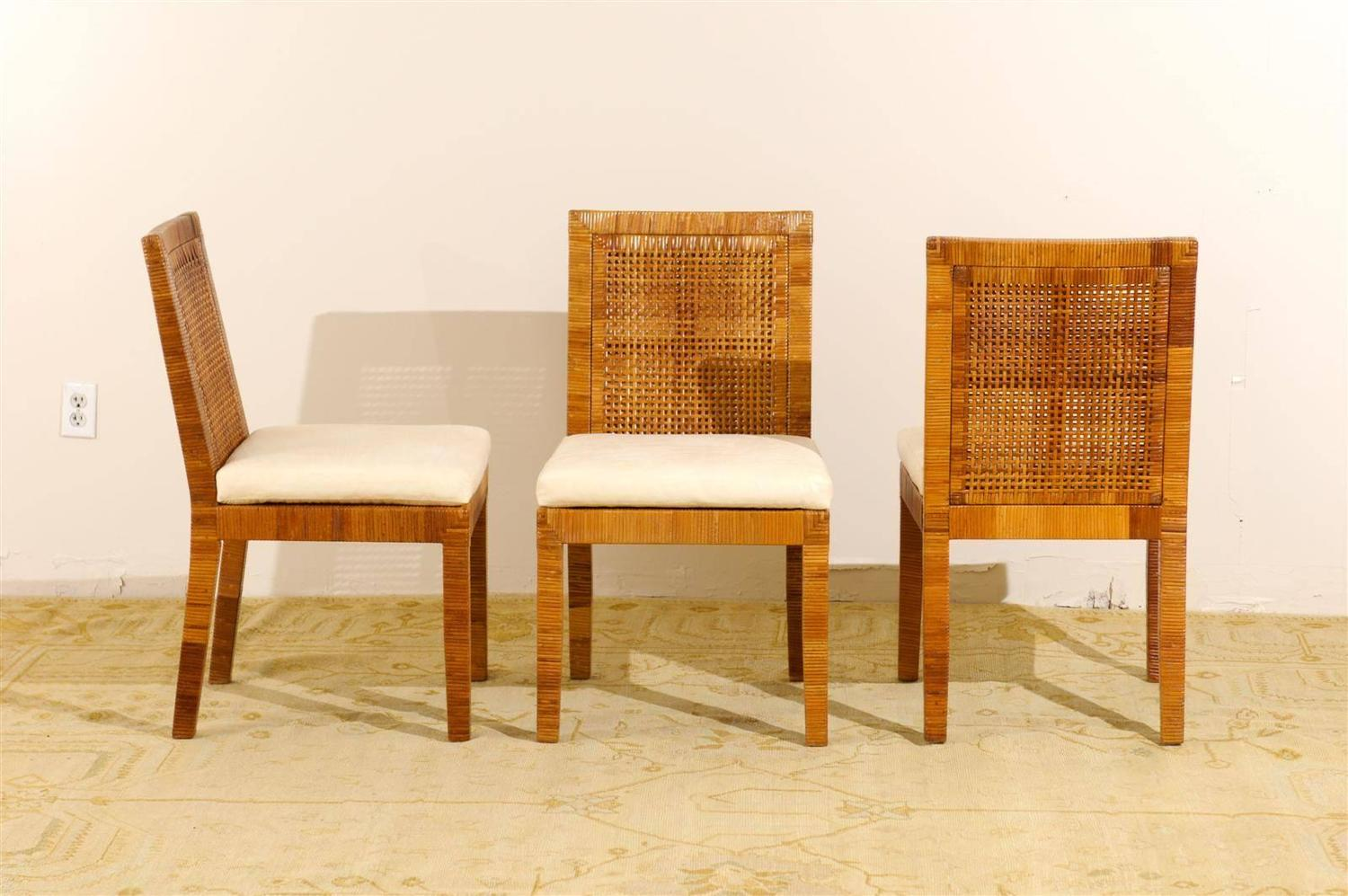 Set Of Six Dining Chairs By Billy Baldwin For Bielecky