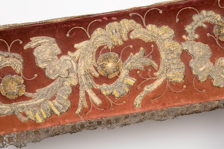 Pair of 18th Century Carved and Painted Baroque Tuscan Arm Benches 7