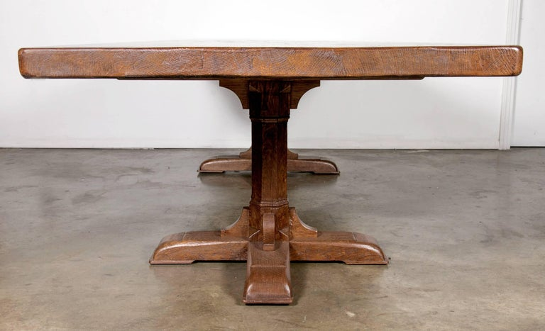 Custom 10 Foot French Farmhouse Table Made From Imported