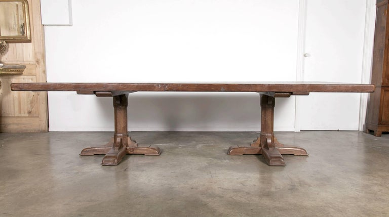Custom 10 foot french farmhouse table made from imported for 10 foot farmhouse table plans