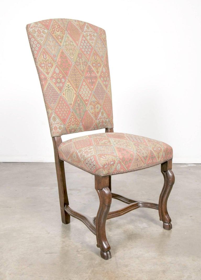 19th century set of ten louis xiv style dining chairs at 1stdibs - Louis th chairs ...
