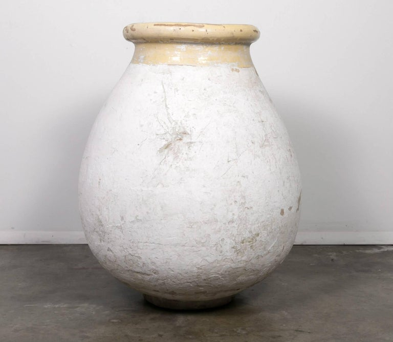 Large 19th Century French Terracotta Biot Pot or Jar For Sale 6