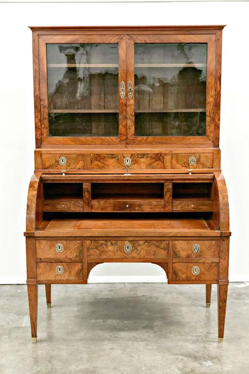French 18th Century Louis XVI Period Bureau à Cylindre or Cylinder Desk For Sale