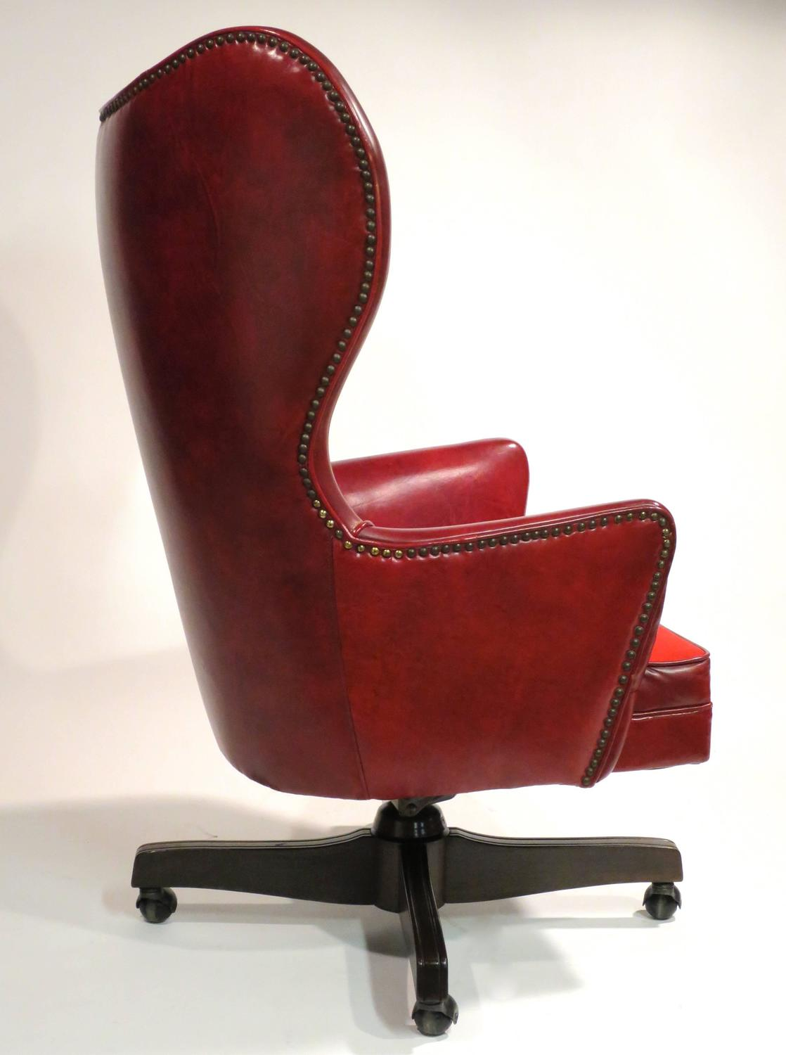 28 leather wingback office chair neo leather wingback offic