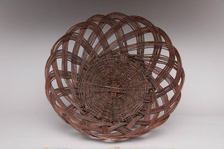 North American Large Gathering Baskets For Sale