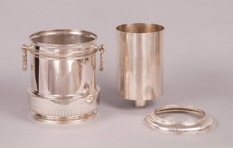 champagne bucket from archducal property  gebr u00fcder frank  vienna circa 1890 for sale at 1stdibs