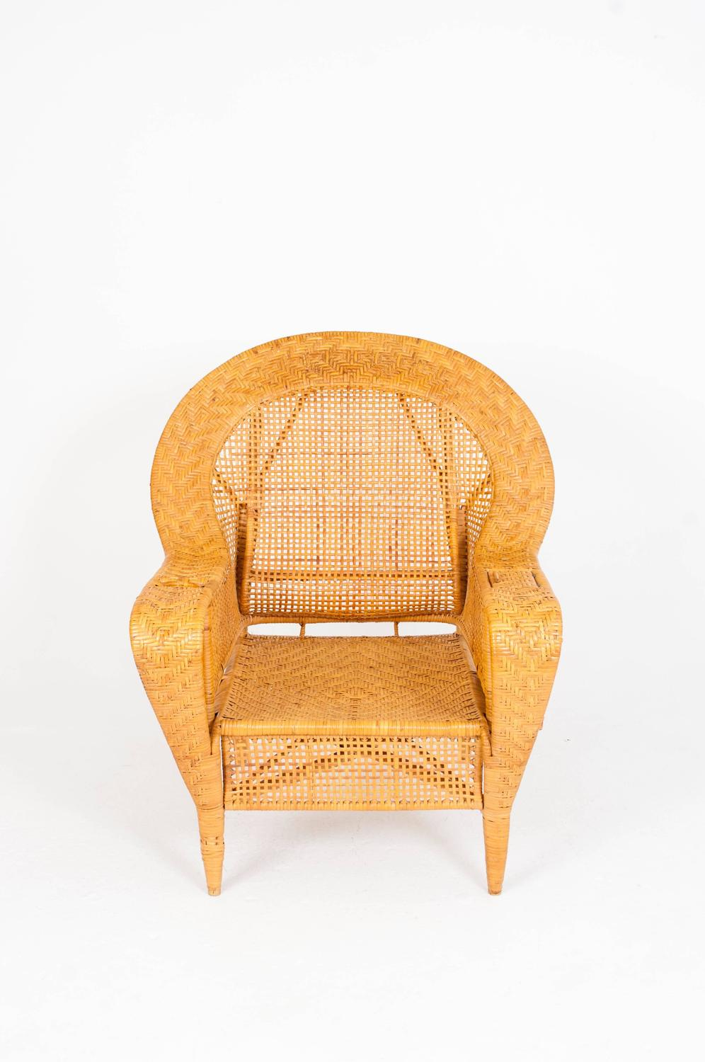 Kay Fisker Wicker Chair For Sale at 1stdibs