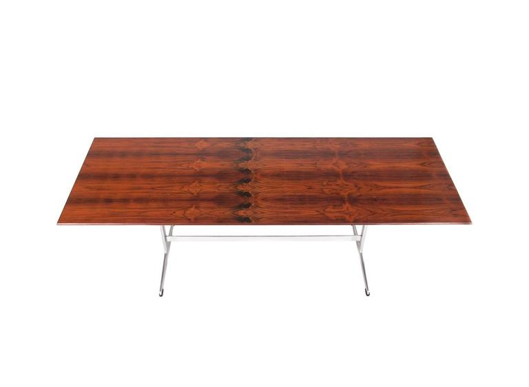 Arne Jacobsen Rosewood Shaker Coffee Table For Sale At 1stdibs