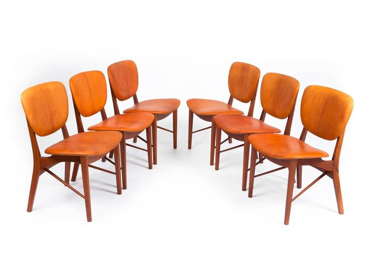 P. Vodder Set of Six Chairs 3