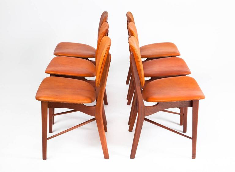 P. Vodder Set of Six Chairs 4