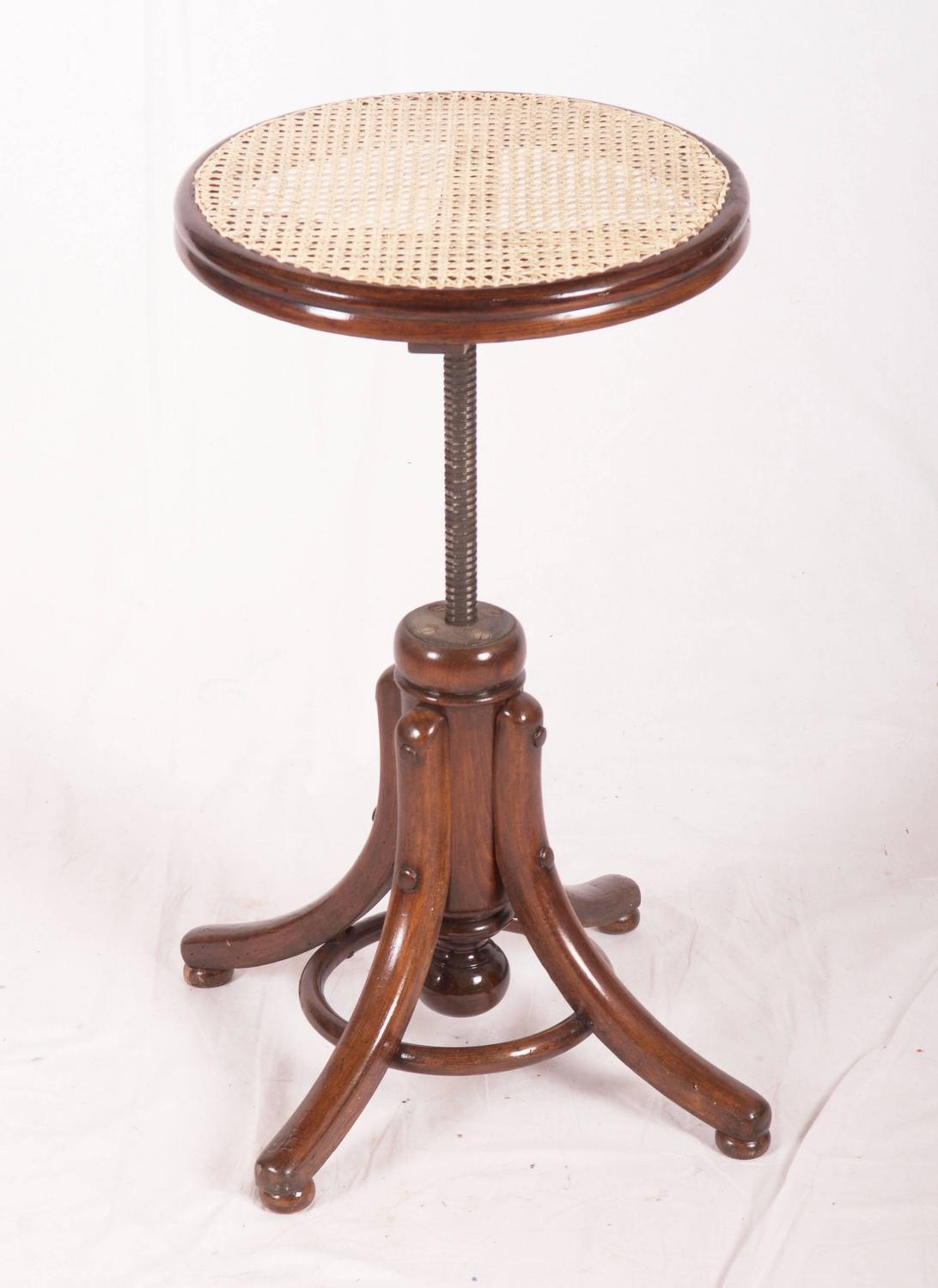 Adjustable Piano Stool For Sale At 1stdibs