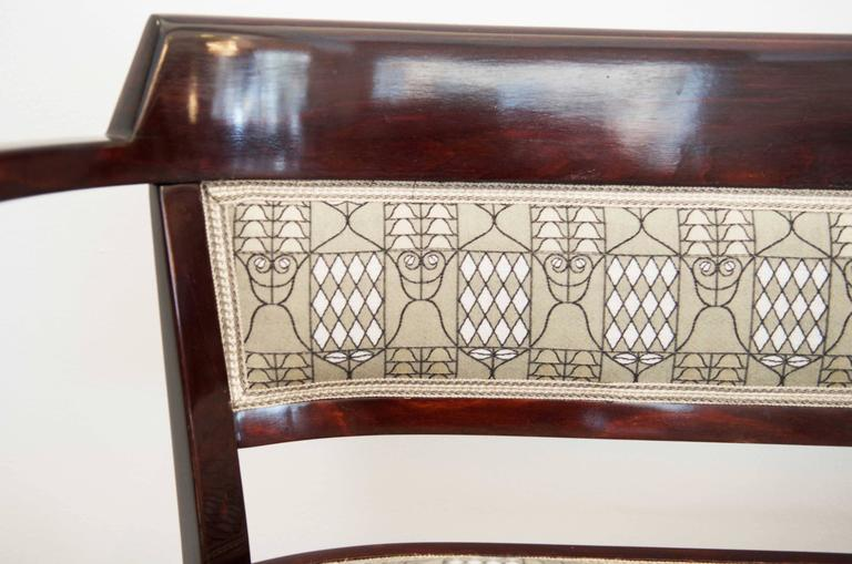 Vienna Secession Thonet Bench Attributed to Otto Wagner For Sale