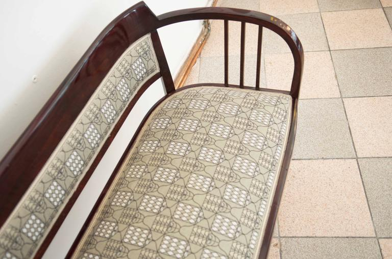 Thonet Bench Attributed to Otto Wagner In Excellent Condition For Sale In Vienna, AT