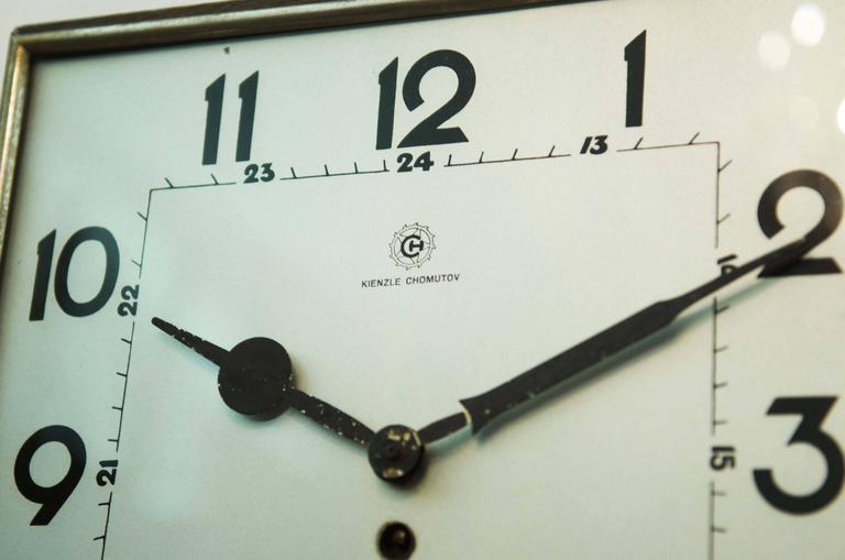Big Kienzle Bauhaus Wall Clock, 1930s 2