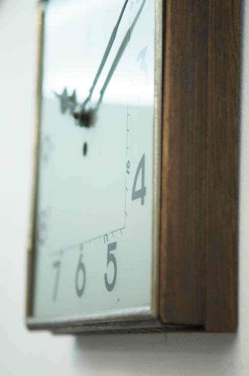 Big Kienzle Bauhaus Wall Clock, 1930s 4