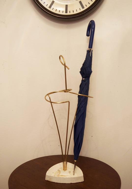 Mid-Century Modern Umbrella Stand, Vienna from 1950s For Sale