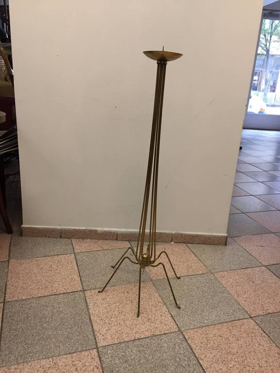 Austrian Brass Candleholder 8