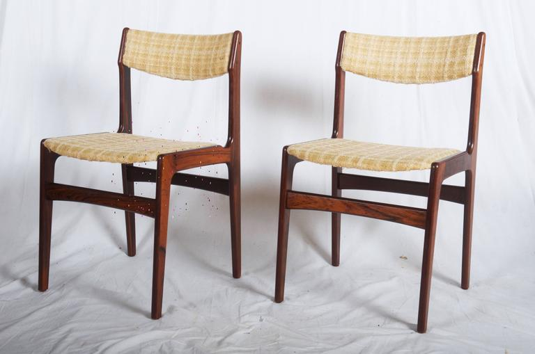 Set of Six Mid-Century Danish Rosewood Dining Chairs 2
