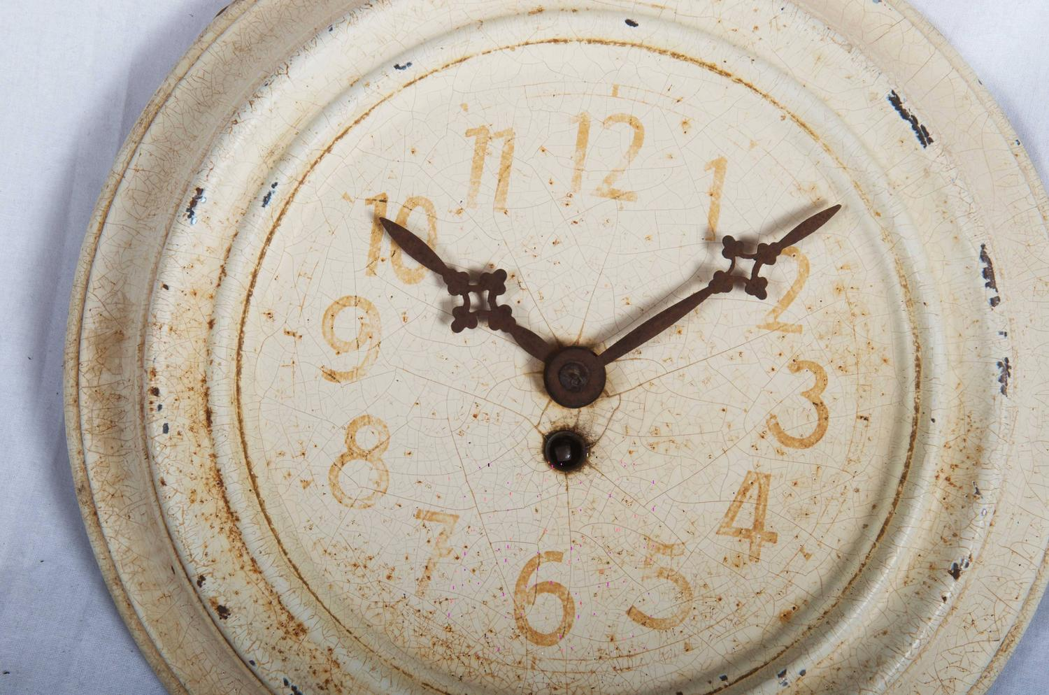 decorative wall clocks wall clock from 1930s for at 1stdibs 11742