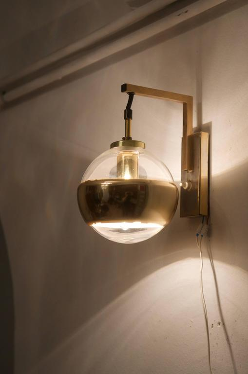 German Wall Light, Sconce by Peill & Putzler For Sale