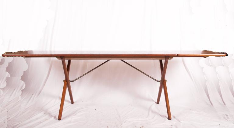 Cross legged dining table by hans j wegner at 309 for sale at 1stdibs scandinavian modern cross legged dining table by hans j wegner at 309 for watchthetrailerfo