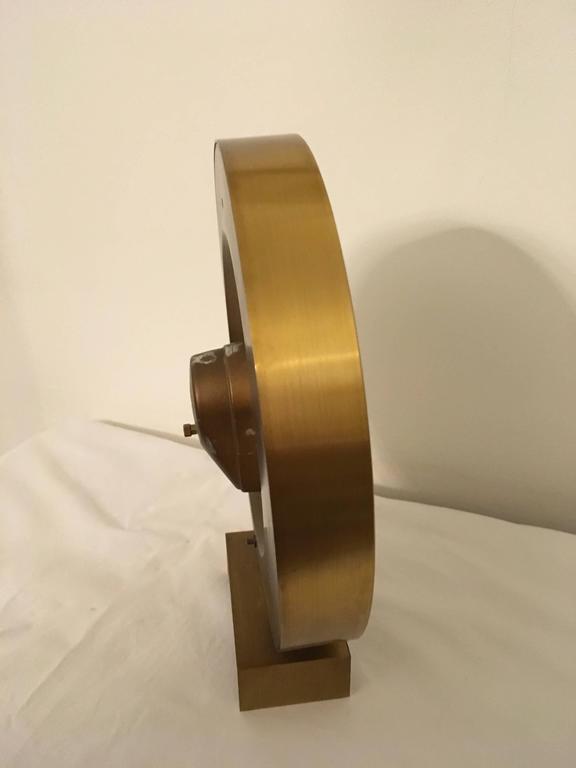 Big Kienzle Weltzeituhr Modernist Table World Timer Zone Clock 5