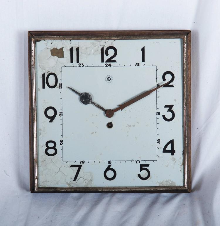 Big Kienzle Bauhaus Wall Clock from the 1930s 4