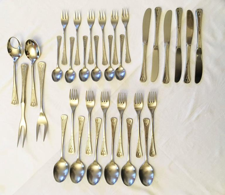 Flatware, Cutlery Set by Berndorf Model 9100, Charleston 3
