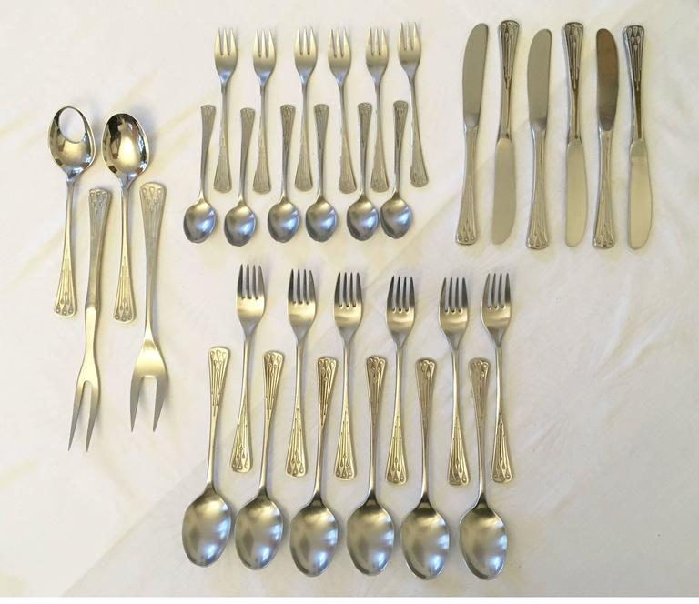 Flatware, Cutlery Set by Berndorf Model 9100, Charleston 10