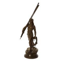 """Bronze Figure """"En Avant"""" by Antoine Bofill"""